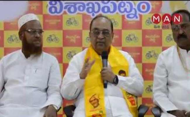 Former TDP MLA SA Rahman Has Resigned From The Party - Sakshi
