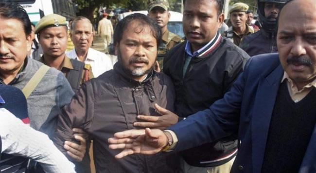 RTI activist Akhil Gogoi remanded to 14 days judicial custody - Sakshi
