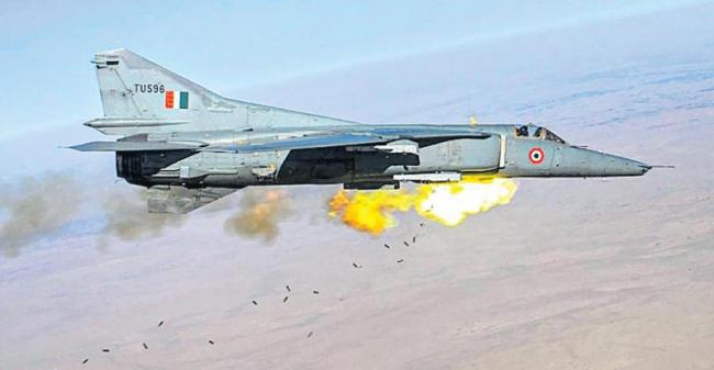 IAFs MiG-27 decommissioned from Air Force - Sakshi