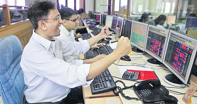 Sensex zooms 411 points and Nifty ends near 12,250 - Sakshi