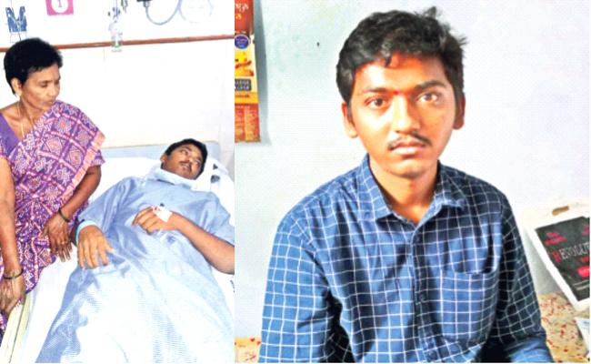 Young Suffering With Blood Cancer Waiting For Helping Hands YSR Kadapa - Sakshi
