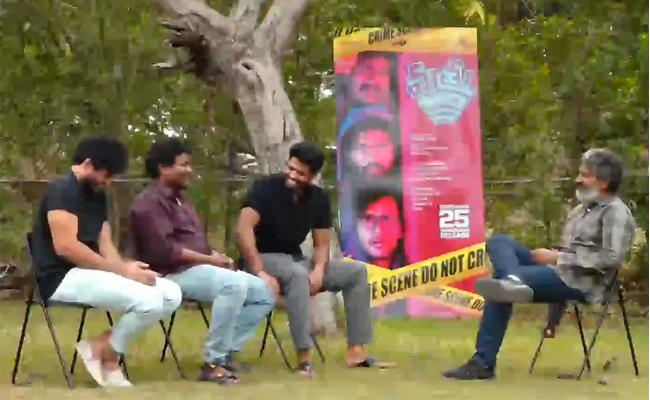 SS Rajamouli Funny Chit Chat With Mathu Vadalara Team - Sakshi