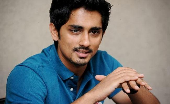 Actor Siddharth Opens Up About His Political Entry - Sakshi