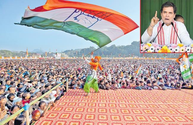 Rahul Gandhi slams Narendra Modi over issue of NPR, NRC - Sakshi
