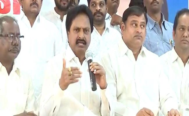 YSR Trade Union President Goutham Reddy Comments On Central Government - Sakshi