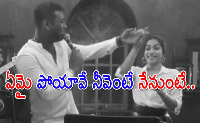 Rahul Sipligunj Dance With Punarnavi Bhupalam In Prakash Raj Party - Sakshi