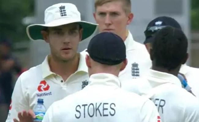 Stokes And Broad Involved In Ugly On Field Spat - Sakshi