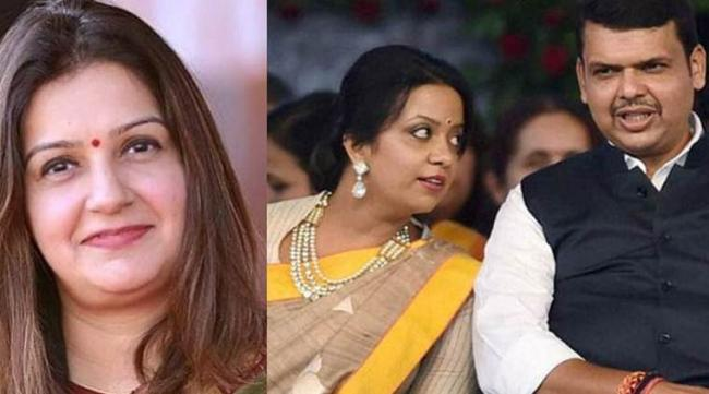Priyanka Chaturvedi Dig At Fadnavis Wife - Sakshi