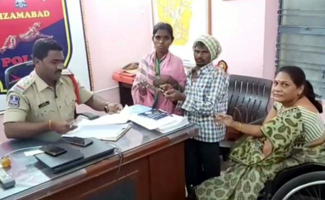Molestation On Disabled Women At Nizamabad District - Sakshi