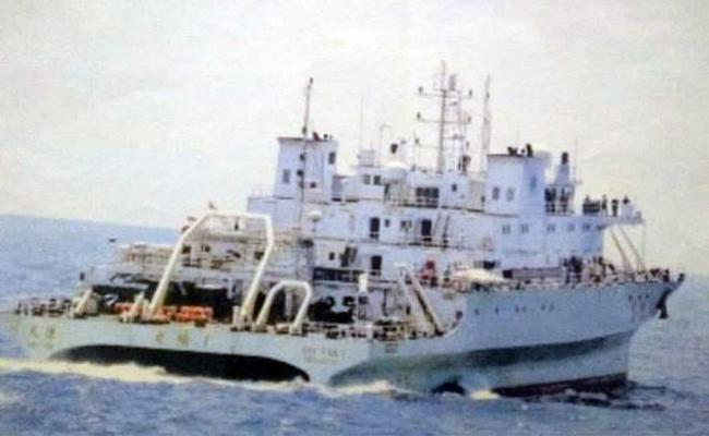 Indian Navy Drives Away Chinese Spy Vessel From Indian Waters - Sakshi