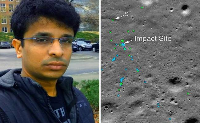 Techie From Chennai Who Found Vikram Lander On Moon - Sakshi