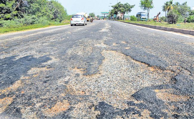 Rs 450 crores for road repairs - Sakshi