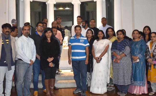 NRIs Pay Tribute to Disha in Dallas - Sakshi