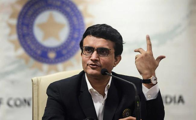 Ganguly Wants At Least One Match In A Series To Be Pink Ball Test - Sakshi