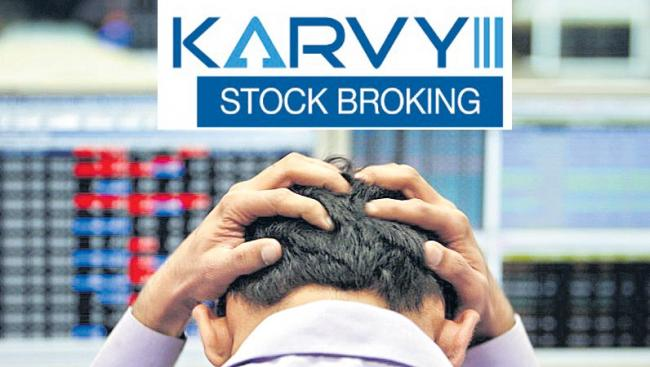 NSE suspends Karvy Stock Broking's licence due to non-compliance - Sakshi