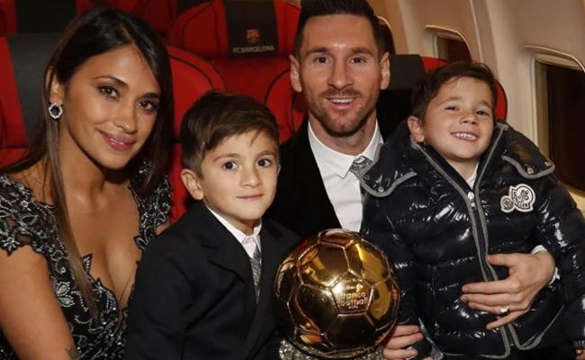 Lionel Messi Claims Record 6th Ballon D'Or - Sakshi