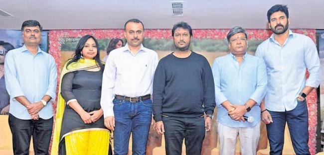 Kona Venkat Speech At Nishabdham Movie Press Meet - Sakshi