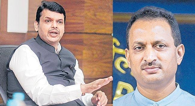 Fadnavis was made CM to protect 40 thousand crore central funds - Sakshi