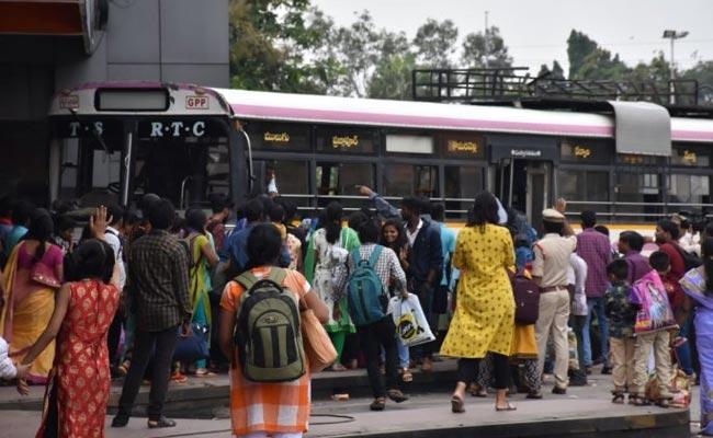 TSRTC Strike affect: Bus Fares Up In Telangana - Sakshi