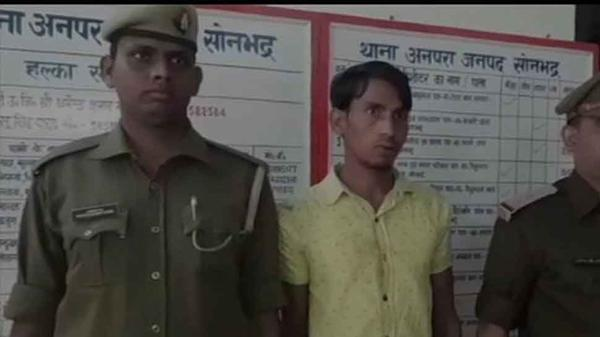 Man Arrested For Raping Old Woman In Sonbhadra - Sakshi