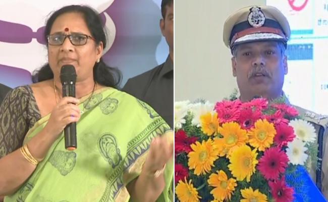 Vasireddy Padma Comments In Be Safe App Launch Vijayawada - Sakshi