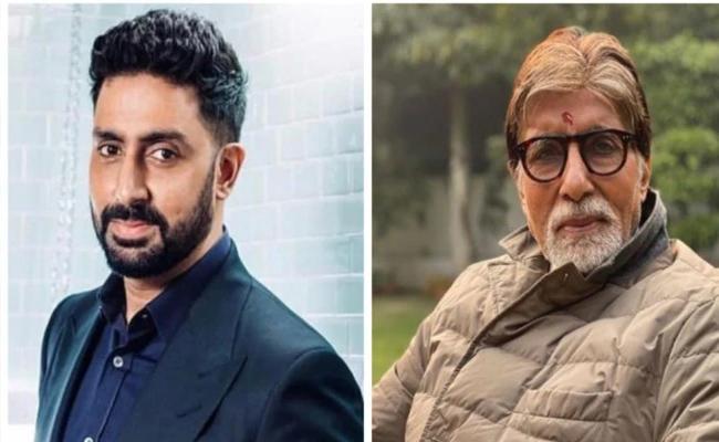 Abhishek Bachchan Posts A Happy Pic With Amitabh And Jaya - Sakshi