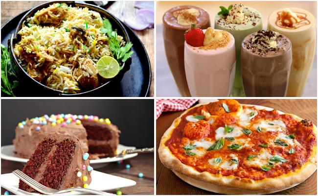 New Year Food Offers At hyderabad - Sakshi