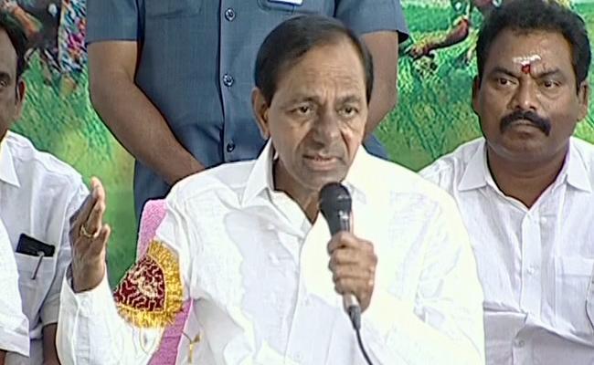 CM KCR Says His Happy With Development OF Telangana - Sakshi