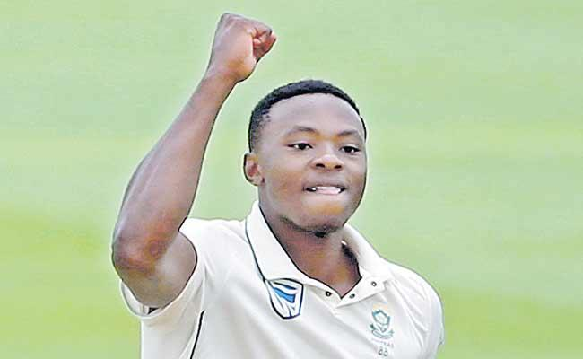 South Africa Beat England In First Test  - Sakshi