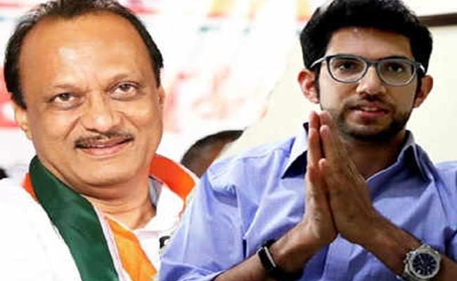 Ajit Pawar And Aditya Thackeray May Got Place In Maharashtra Cabinet - Sakshi