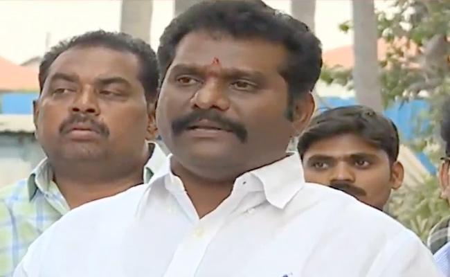 TDP MLA Maddali Giridhara Rao Comments - Sakshi