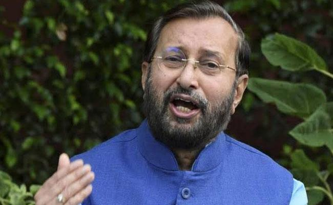 Union Minister Prakash Javadekar Released Indian Forest Survey Report - Sakshi