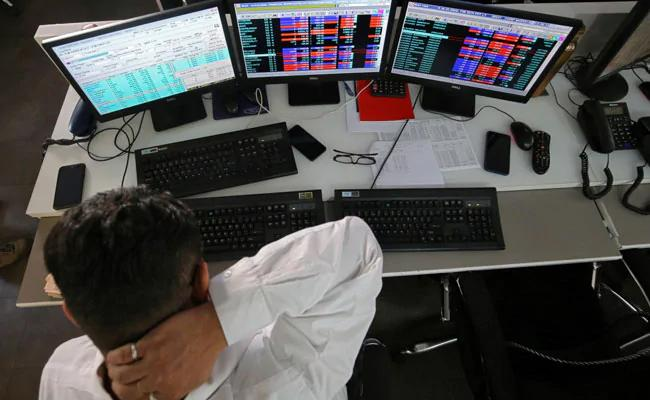 Sensex Falls Over 250 Points From Day High  - Sakshi