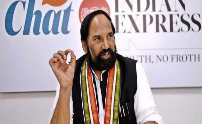 Uttam Kumar Reddy Will Quit From TPCC Chief After Minicipal Elections - Sakshi
