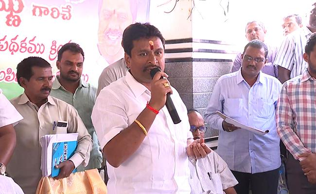 AP Minister Vellampalli Srinivas Comments On TDP Government - Sakshi