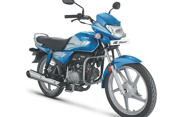 HeroMotoCorp launches 100-CC BS-VI motorcycle –HF Deluxe at Rs 55925 - Sakshi