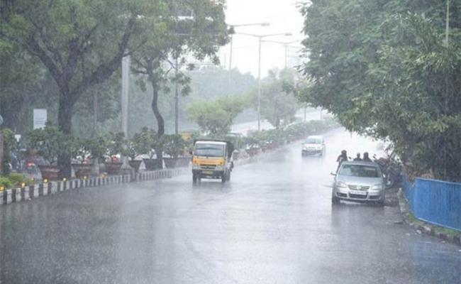 Rain in Hyderabad - Sakshi