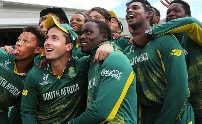 South Africa Under 19 Team Won The Last  ODI Match - Sakshi