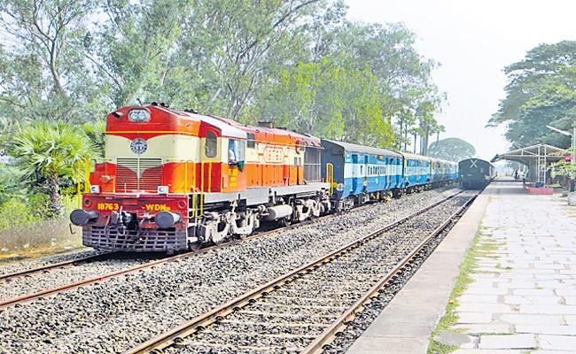 Special trains in many ways - Sakshi