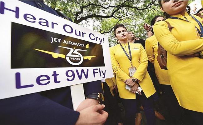 Jet Airways hits upper circuit on report Hinduja Group may bid for airline - Sakshi