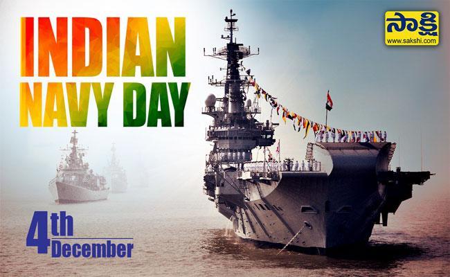 National Navy Day 4th Dec - Sakshi