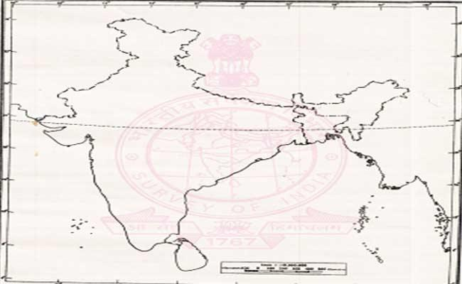 SCERT Orders To Download The New Map Of India Through Survey Of India Website - Sakshi