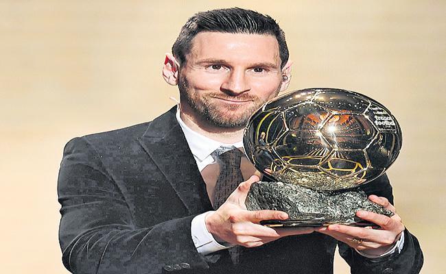 Lionel Messi Won His Sixth Ballon d'Or Title - Sakshi