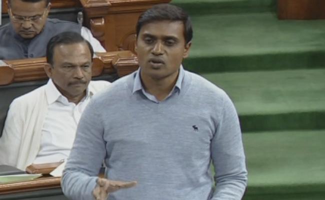 MP Mithun Reddy Demanded Special Status For Andhra Pradesh  - Sakshi
