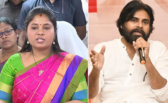 Pushpa Srivani: Pawan Kalyan Should Apologize To The Women - Sakshi