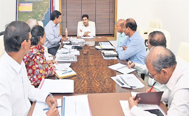 CM YS Jagan review on the Visakha comprehensive development - Sakshi