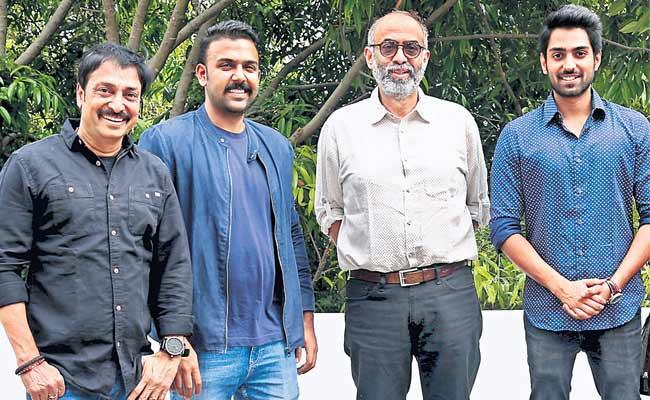 Producer Raj Kandukuri Son New Movie Choosi Choodangaane - Sakshi
