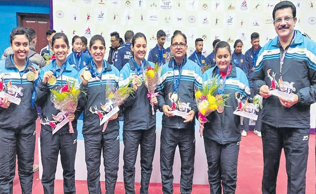 India Table Tennis Got Two Medals In South Asian Games - Sakshi