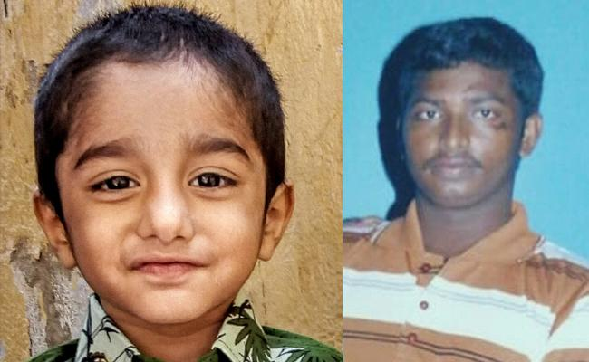 Father Kidnaps His Son And Demanded Rs 5 Lakhs In Guntur - Sakshi