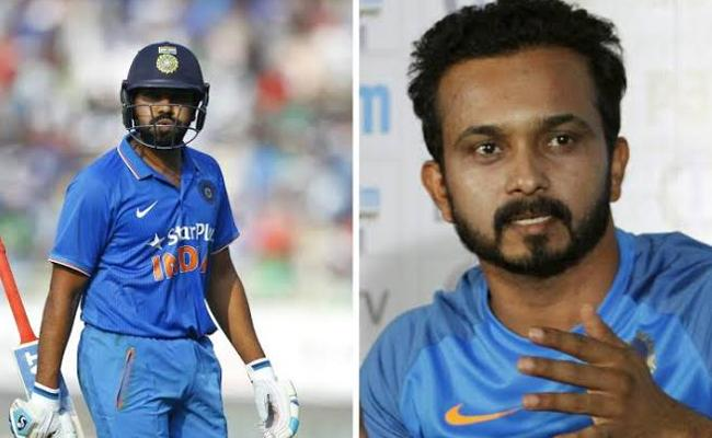 Rohit Stuns Instagram On Kedar Posing In Latest Post - Sakshi